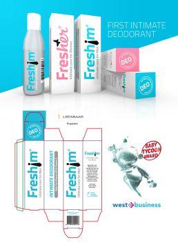 logo ontwerp en verpakking freshim den haag