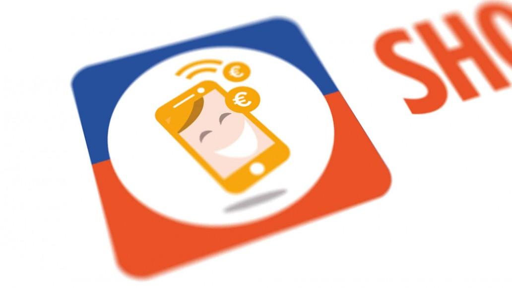 logo ontwerp voor app shop en spaar