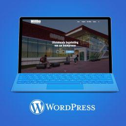 wordpress website ontwerp willbo bouwkundig adviesbureau