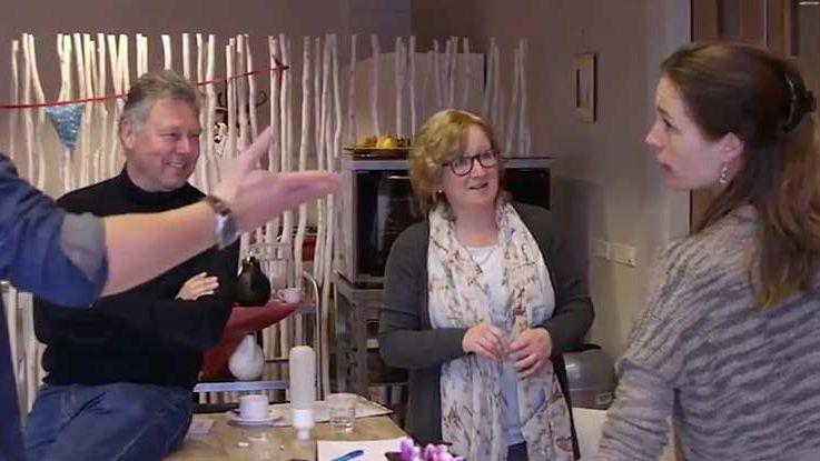 creatieve sessie tijdens 8 uur overwerken voor het goede doel in pijnacker nootdorp