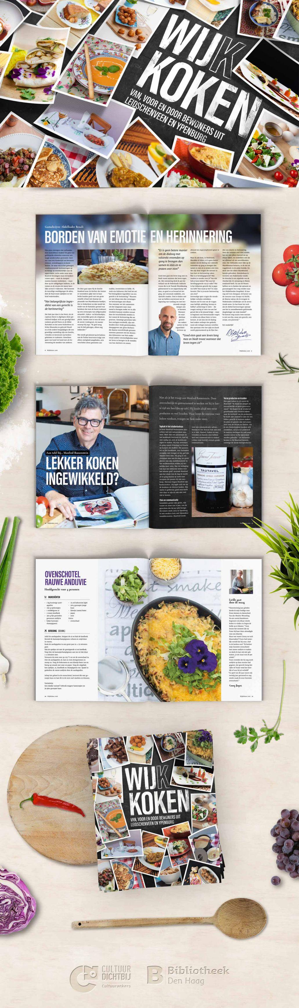 magazine ontwerp en vormgeving wijkkoken uit den haag ypenburg en leidschenveen