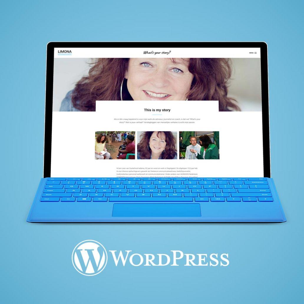wordpress website ontwerp limona communicatie